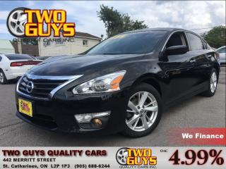Used 2013 Nissan Altima 2.5 SV NAV SUNROOF ALLOYS REMOTE START for sale in St Catharines, ON