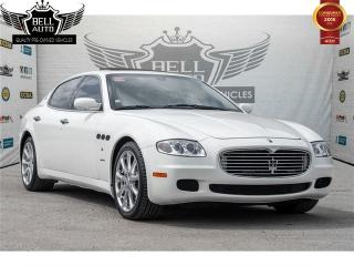 Used 2008 Maserati Quattroporte PININFARINA W/ AUTOMATIC PADDLE SHIFTERS SUNROOF for sale in Toronto, ON