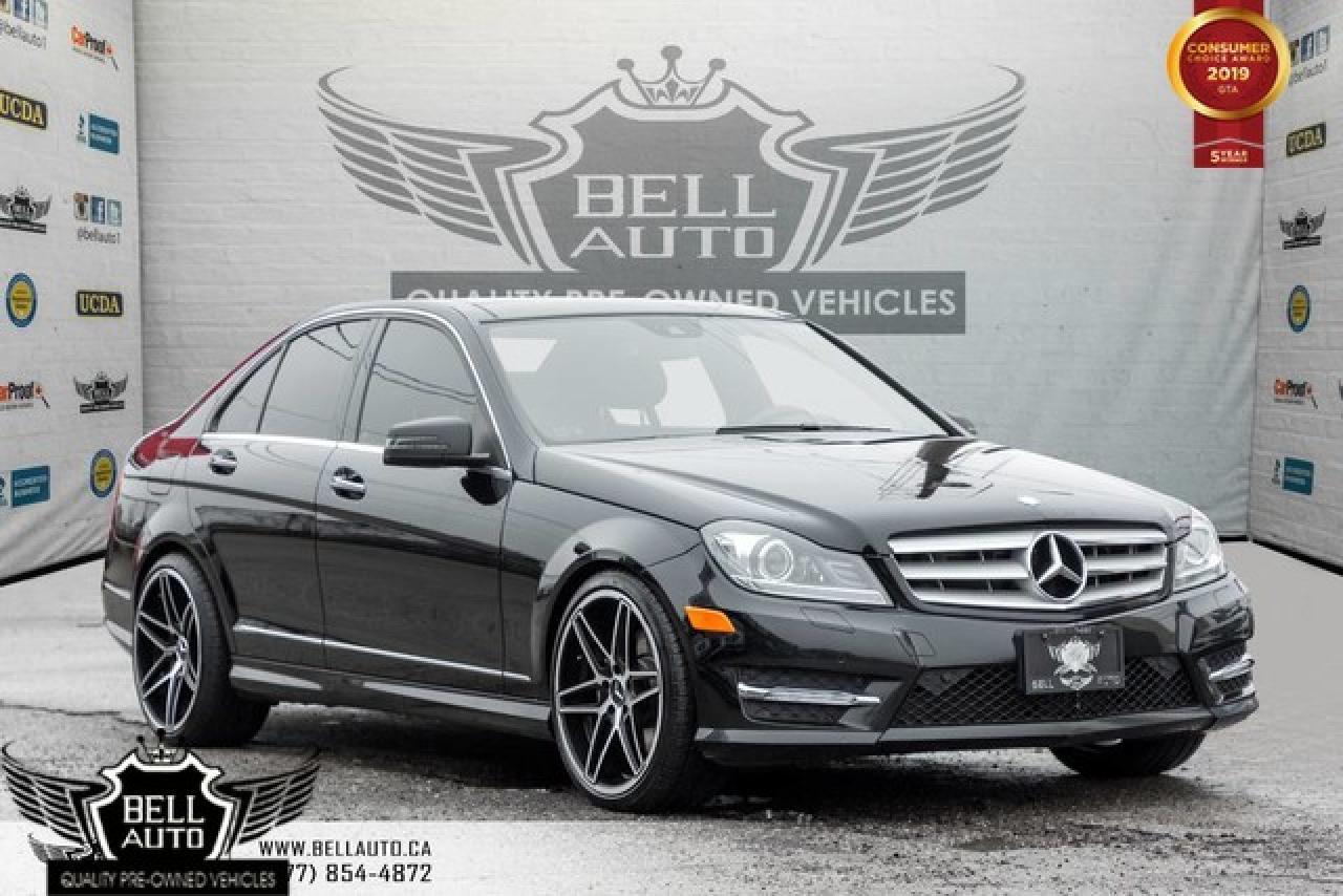 2013 Mercedes-Benz C-Class C 350, NAVI, BACK-UP CAM, LANE + ATTENTION ASSIST