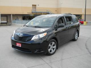Used 2012 Toyota Sienna 7 Passanger,  Automatic, A/C, 3/Y warranty availab for sale in North York, ON