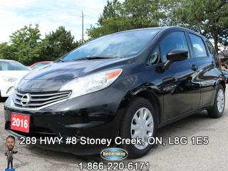 Used 2016 Nissan Versa Note SV...UNBEATABLE FUEL EFFECIENCY!!! for sale in Stoney Creek, ON