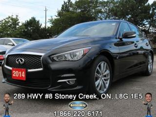 Used 2014 Infiniti Q50 PREMIUM...PREMIUM LUXURY!!! for sale in Stoney Creek, ON
