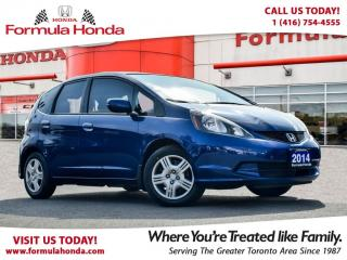 Used 2014 Honda Fit LX BLUETOOTH | MINT CONDITION for sale in Scarborough, ON