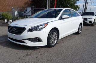 Used 2015 Hyundai Sonata 2.4L.BACKUP CAM. ALLOYS.CARPROOF CLEAN for sale in Brampton, ON