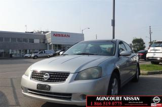 Used 2006 Nissan Altima 2.5 S |AS-IS SUPER SAVER| for sale in Scarborough, ON