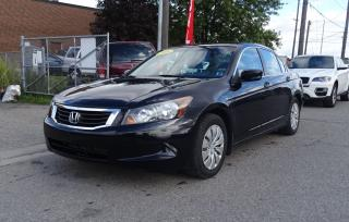 Used 2008 Honda Accord LX.ONE OWNER. SOLD SOLD SOLD for sale in Brampton, ON