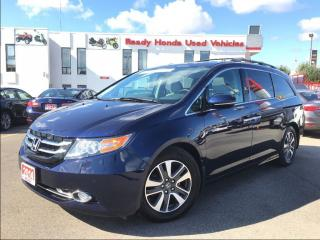 Used 2014 Honda Odyssey Touring - Navigation - Leather - Sunroof for sale in Mississauga, ON