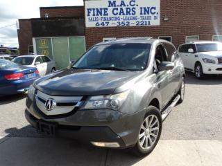 Used 2008 Acura MDX Tech Pkg - NAVIGATION - CERTIFIED for sale in North York, ON