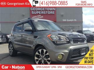 Used 2012 Kia Soul 4U SUNROOF| ALLOYS| HTD SEATS| FOGS for sale in Georgetown, ON