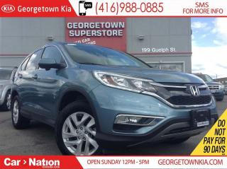 Used 2015 Honda CR-V EX SUNROOF| AWD| BACK UP CAM| 17, 315KMS| LIKE NEW for sale in Georgetown, ON