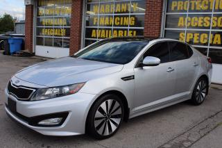 Used 2011 Kia Optima Turbo SX, NAVI, BACK up cam for sale in Oakville, ON
