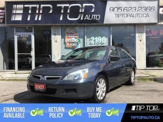 Used 2007 Honda Accord EX ** Leather, Sunroof, V6, Winter RIms/Tires ** for sale in Bowmanville, ON