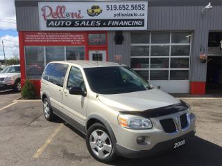 Used 2008 Pontiac Montana NO ACCIDENTS for sale in London, ON
