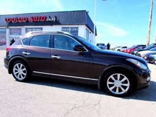 Used 2008 Infiniti EX35 AWD NAVIGATION CAMERA CERTIFIED 2YR WARRANTY for sale in Milton, ON