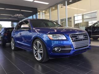 Used 2015 Audi SQ5 Technik, Accident Free, One Owner for sale in Edmonton, AB