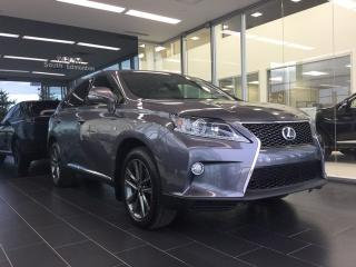 Used 2013 Lexus RX 350 F Sport, Heated/Cooled Seats, Navigation for sale in Edmonton, AB