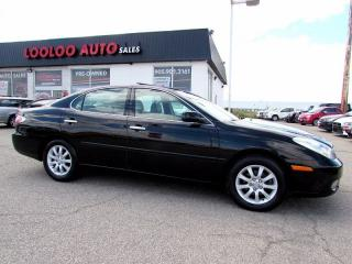 Used 2003 Lexus ES 300 LEATHER SUNROOF AUTOMATIC for sale in Milton, ON