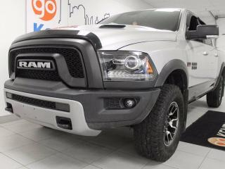 Used 2016 Dodge Ram 1500 Rebel- NAV, sunroof, heated leather seats, heated steering wheel, and look at that killer interior for sale in Edmonton, AB