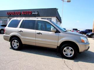 Used 2005 Honda Pilot EX-L 4x4 7 Passenger Sunroof Leather for sale in Milton, ON