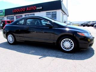 Used 2008 Honda Civic LX Coupe Sunroof 5 Speed Manual Transmission for sale in Milton, ON