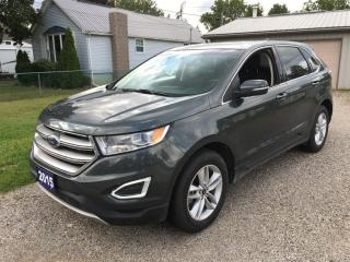 Used 2015 Ford Edge SEL  AWD for sale in Belmont, ON
