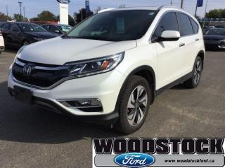 Used 2015 Honda CR-V Touring - Navigation -  Leather Seats for sale in Woodstock, ON