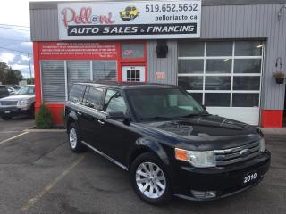Used 2010 Ford Flex SEL|7 PASSENGER|REAR A/C for sale in London, ON