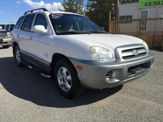 Used 2005 Hyundai Santa Fe GL w/Air Pkg for sale in Pickering, ON