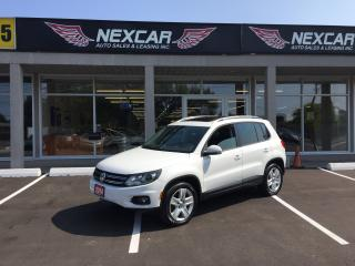 Used 2014 Volkswagen Tiguan COMFORTLINE AUTO AWD LETHER PANO/ROOF 94K for sale in North York, ON