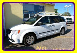 Used 2013 Dodge Grand Caravan TRADESMAN CARGO VAN LOADED, ROOF RACK for sale in Woodbridge, ON