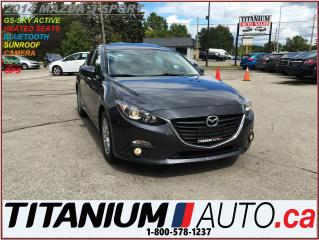 Used 2014 Mazda MAZDA3 Sport H.B.+GS-SKY+GPS+Camera+Sunroof+Heated Seats+ for sale in London, ON