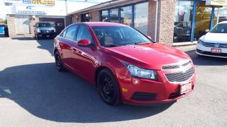 Used 2012 Chevrolet Cruze LT Turbo+ w/1SB/NO ACCIDENT/IMMACULATE $7599 for sale in Brampton, ON