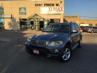 Used 2010 BMW X5 35d, Panoramic Roof, Sensors, Clean CarProof for sale in North York, ON