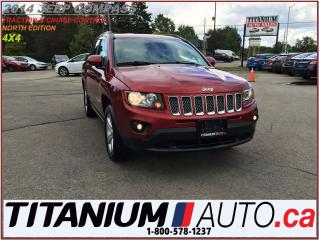 Used 2014 Jeep Compass NORTH+4X4+Leather+Cruise+New Tires & Brakes+Fogs++ for sale in London, ON