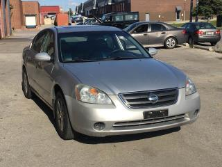 Used 2003 Nissan Altima SL for sale in North York, ON