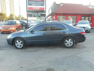 Used 2004 Honda Accord EXL LOADED for sale in Scarborough, ON