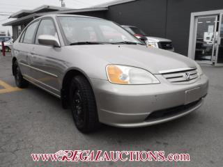 Used 2002 Honda CIVIC LX-G 4D SEDAN for sale in Calgary, AB