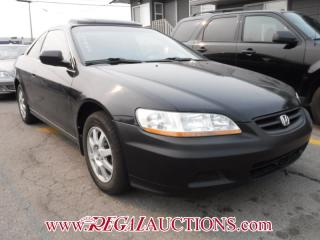 Used 2002 Honda ACCORD SE 2D COUPE for sale in Calgary, AB
