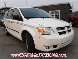 Used 2010 Dodge GRAND CARAVAN BASE CARGO VAN for sale in Calgary, AB