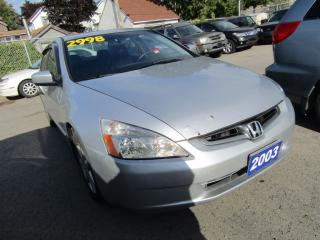 Used 2003 Honda Accord EX for sale in St Catharines, ON