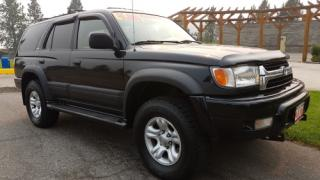 Used 2001 Toyota 4Runner Limited 4WD for sale in West Kelowna, BC