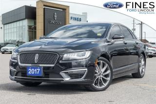 Used 2017 Lincoln MKZ Reserve - DRIVER SPORT PKG for sale in Bolton, ON