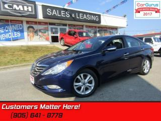 Used 2012 Hyundai Sonata Limited  NAV, LEATHER, SUNROOF, CAMERA, HEATED SEATS for sale in St Catharines, ON