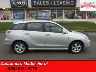 Used 2008 Toyota Matrix XR for sale in St Catharines, ON