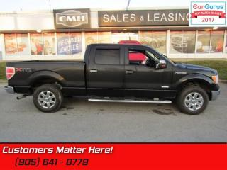 Used 2013 Ford F-150 XLT  4X4, CREW, XTR-PKG, P/SEAT, CHROME SIDE-BARS for sale in St Catharines, ON