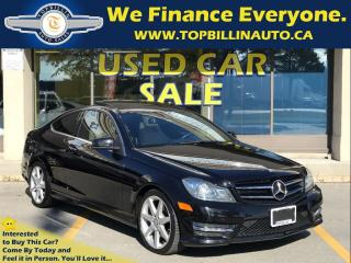 Used 2014 Mercedes-Benz C-Class C350 4MATIC, Fully Loaded, Only 51K for sale in Concord, ON
