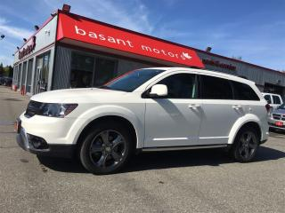 Used 2017 Dodge Journey Crossroad, 7 Passenger, Heated Seats/Wheel!! for sale in Surrey, BC