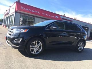 Used 2017 Ford Edge Titanium, Backup Camera, Alloy Wheels, Heated Seat for sale in Surrey, BC
