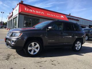 Used 2016 Jeep Compass Sunroof, Heated Seats, Leather, Alloy Wheels!! for sale in Surrey, BC