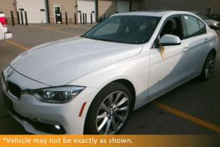 Used 2016 BMW 328i xDrive, Navigation, Moon Roof for sale in Winnipeg, MB